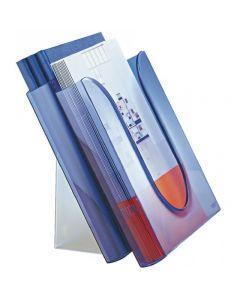 Półka na katalogi LEITZ przezroczysty niebieska 54010034