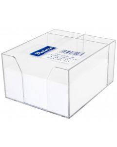 Kostka nieklejona pojemnik DATURA/NATUNA 85x85x50 biała