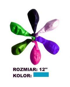 Balony 12' METALIK niebi.(100) KW TRADE 170-1646