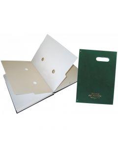 Teczki do podpisu 20k z okienkiem (zieleń) WARTA 1827-920-036
