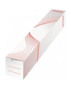 Tuba kartonowe kwadratowa 65x65mm na plakaty ESSELTE wysokość 500mm 20956