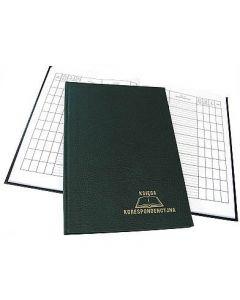 Księga korespond.192k zielona 229-013 WARTA