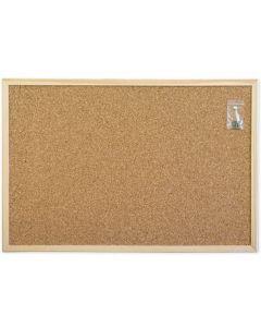 Tablica korkowa 60x90 r.drewniana WIELKOR