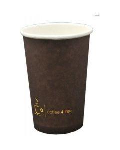 Kubek papierowy 100ml z nadr.COFFEE 4 YOU (100) 221.006