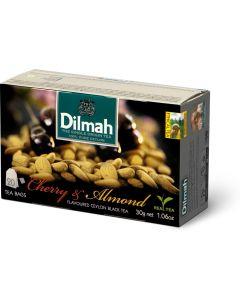 Herbata DILMAH AROMAT WIŚNIA&MIGDAŁ (20 saszetek) czarna