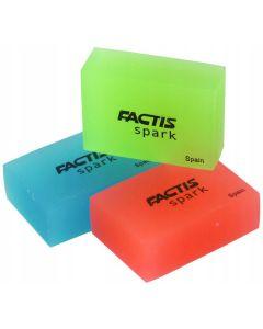 Gumki do ścierania fluo (16szt.) SP-16 FACTIS