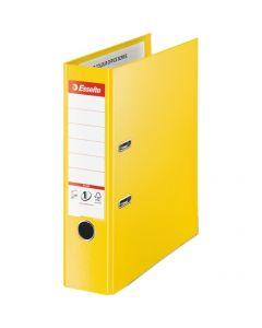 Segregator A4/80mm żółty ESSELTE No.1 POWER PLUS 624076