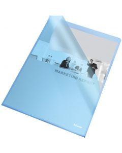 Ofertówki groszkowe A4 115mic niebieskie (25szt) ESSELTE 60834