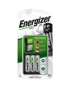 Ładowarka ENERGIZER MAXI + akumulatorek R6/AA 2000mAh (4szt)