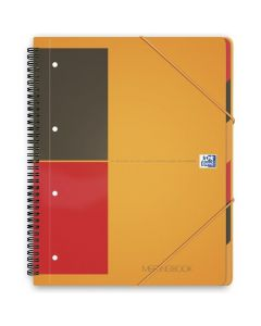 Kołonotatnik A4 80K linie PP OXFORD Meetingbook International 100104296