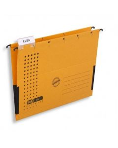 Teczka zawieszana z boczkami CHIC żółty ELBA 100552103