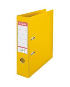 Segregator A4/75mm z mechanizmem żółty 811310 No.1 ESSELTE