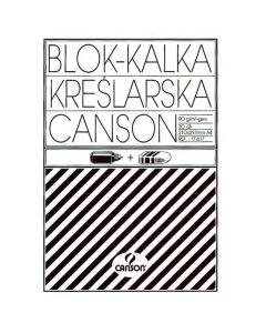 Kalka kreślarska A4 90/95 blok 30ark 17617 CANSON 200005322