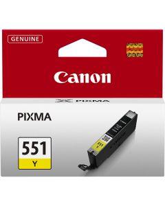 Tusz CANON (CLI-551Y/6511B001) żółty 329str