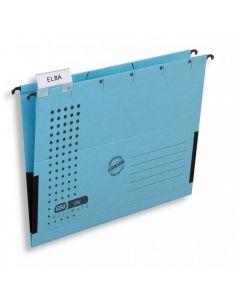 Teczka zawieszana z boczkami CHIC niebieska ELBA 100552099