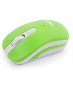 Mysz bezprzewodowa 24GHz URANUS zielonobiała ESPERANZA EM126WG