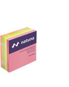 Kostka samoprzylepna DATURA/NATUNA 75x75 320 kartek intensywna (NSKI/D)
