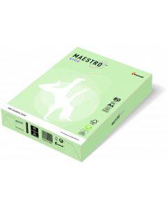 Papier xero MAESTRO COLOR A4 80g GN27 jasna zieleń
