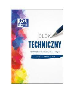 Blok techniczny OXFORD A3 10k 250G biały 400093232