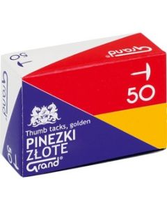 Pinezka złota G50 (10) GRAND 110-1377