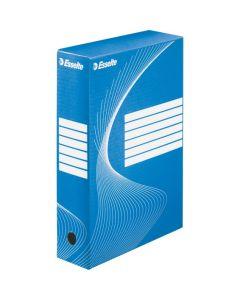 Pudełka archiwizacyjne ESSELTE BOXY 80mm niebieskie 128411