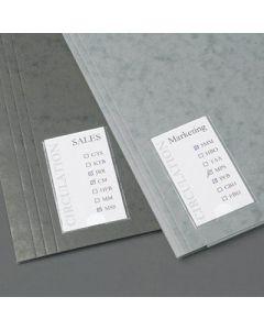 Samoprzylepne kieszenie na etykiety 3L 35x75mm 10320