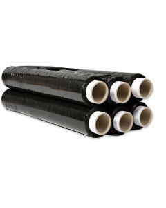 Folia stretch DATURA/NATUNA 2,5kg 23mic czarna rozciągliwość 170%