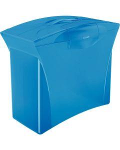 Walizeczka na teczki zawieszane VIVIDA niebieska ESSELTE EUROPOST 623983