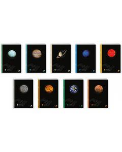Zeszyt A5 60k. kratka Układ Planetarny EL-M3-060-KA5