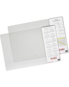 Podkładka na biurko z kieszenią przezroczysta 38x58 PB-04-01 BIURFOL