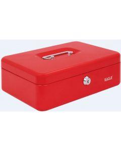 Kasetka na pieniądze EAGLE 8878 M czerwona 82x192x262