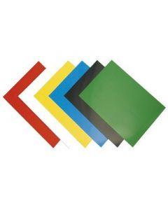 Okładki kartonowe Chromo A4 białe 5378006 FELLOWES