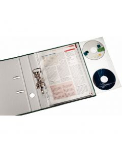 Koszulki na dokumenty i CD (5szt) LEITZ Combo 47613103