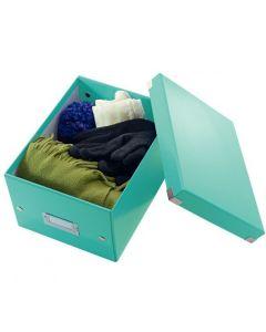 Pudełko LEITZ Click & Store A5 turkusowe 60430051