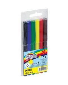 Flamastry FIORELLO 6 kolorów 160-1387