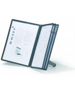 Panele prezentacyjne na biurko 5szt.czarne 554001 DURABLE SHERPA SOHO