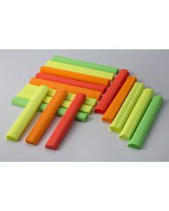Krepina 25x200cm-fluo, zielony, 5 rolek HAPPY COLOR HA 3640 2520-205