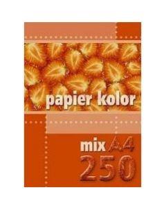 Papier xero A4 mix (250ark) KRESKA
