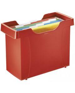 Kartoteka DECOFLEX LEITZ Plus czerwona 19930325