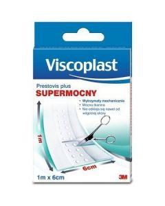 Tkaninowy plaster opatrunkowy 1mx6cm 3M PRESTOVIS PLUS