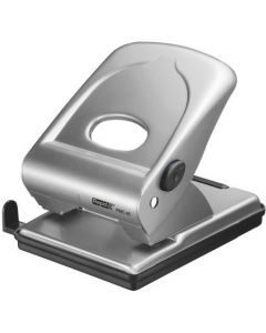 Dziurkacz FMC40 RAPID srebrny 40 kartek duży metalowy 21835602