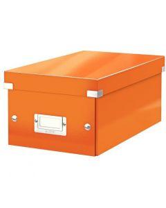 # Pudło na DVD LEITZ C&S WOW pomarańczowy 60420044