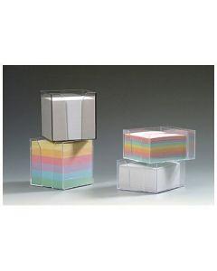 Kostka nieklejona pojemnik DATURA/NATUNA 85x85x85 kolorowa