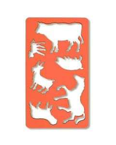 Szablon zwierząt 749054 KOŃ