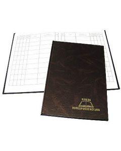 Książka koresp.300k brąz WARTA 229-021