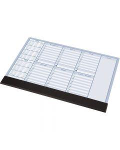 BIUWAR z listwą plan tygodnia 0318-0005-99 PANTA PLAST