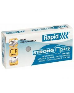 Zszywki RAPID Strong 24/6 1M 24855800