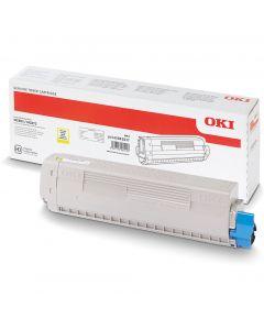 Toner OKI (45862837) żółty 7300str