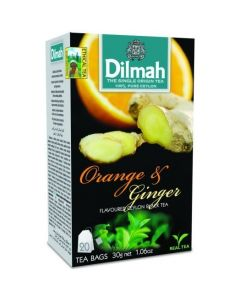 Herbata DILMAH AROMAT POMARAŃCZ&IMBIR 20t