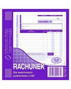 230-4 Rachunek MICHALCZYK&PROKOP 2/3 A5 80 kartek